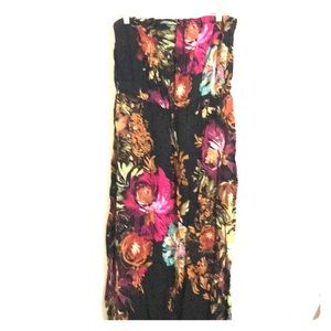 Xhiliration tube maxi dress